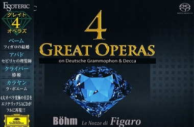 歌剧 4 Great Operas on Deutsche Grammophon & Decca[DSD SACD ISO 百度云]